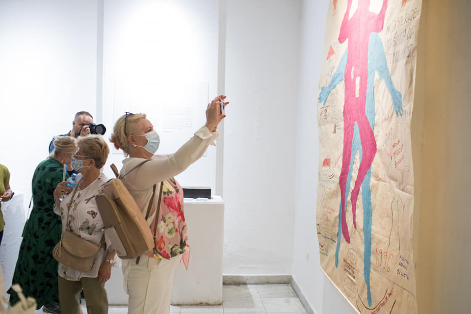 """""""Speaking Out"""" Exhibition Opens in Sarajevo"""