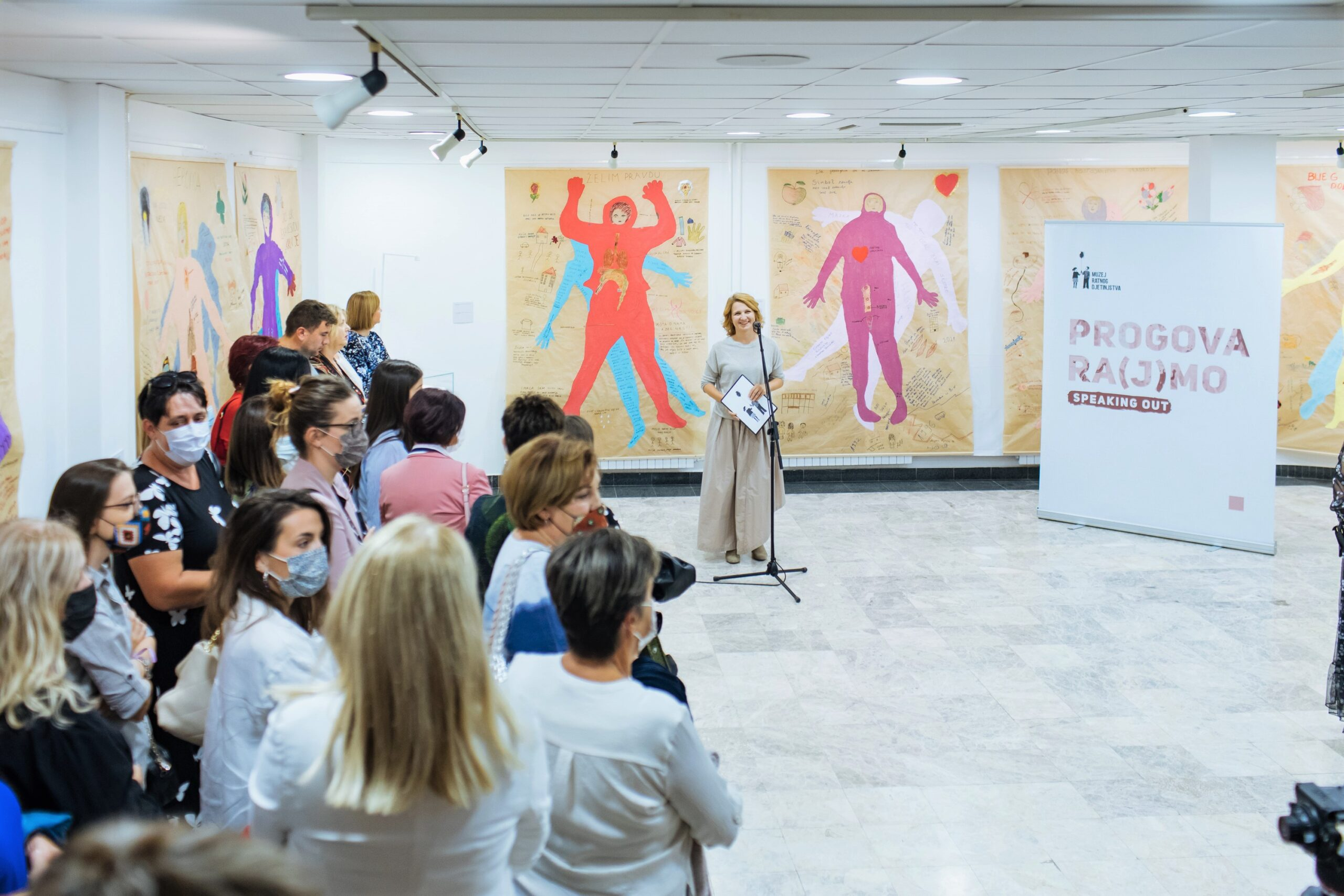 """WCM's """"Speaking Out"""" Exhibition Now On View in Mostar!"""